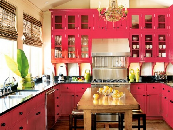 All Pink Kitchen blast of pink kitchen - earnest home co.