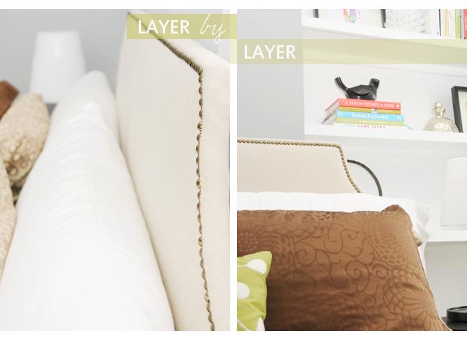 handmade nailhead upholstered headboard  earnest home co., Headboard designs