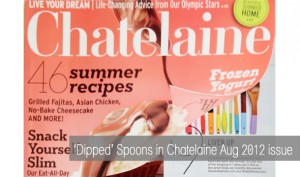Chatelaine Aug 2012 issue