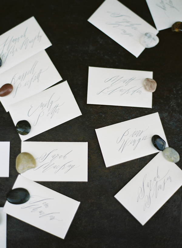 betsy-dunlap-calligraphy-stone-escort-cards - Earnest Home co.