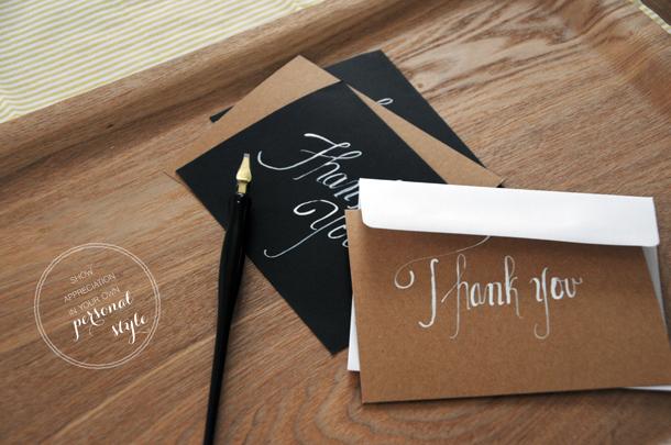 hand written thank you - 4