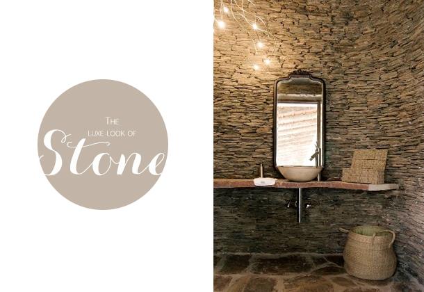 stone bathroom veneer rustic