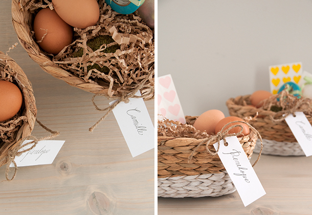 dipped basket diptych
