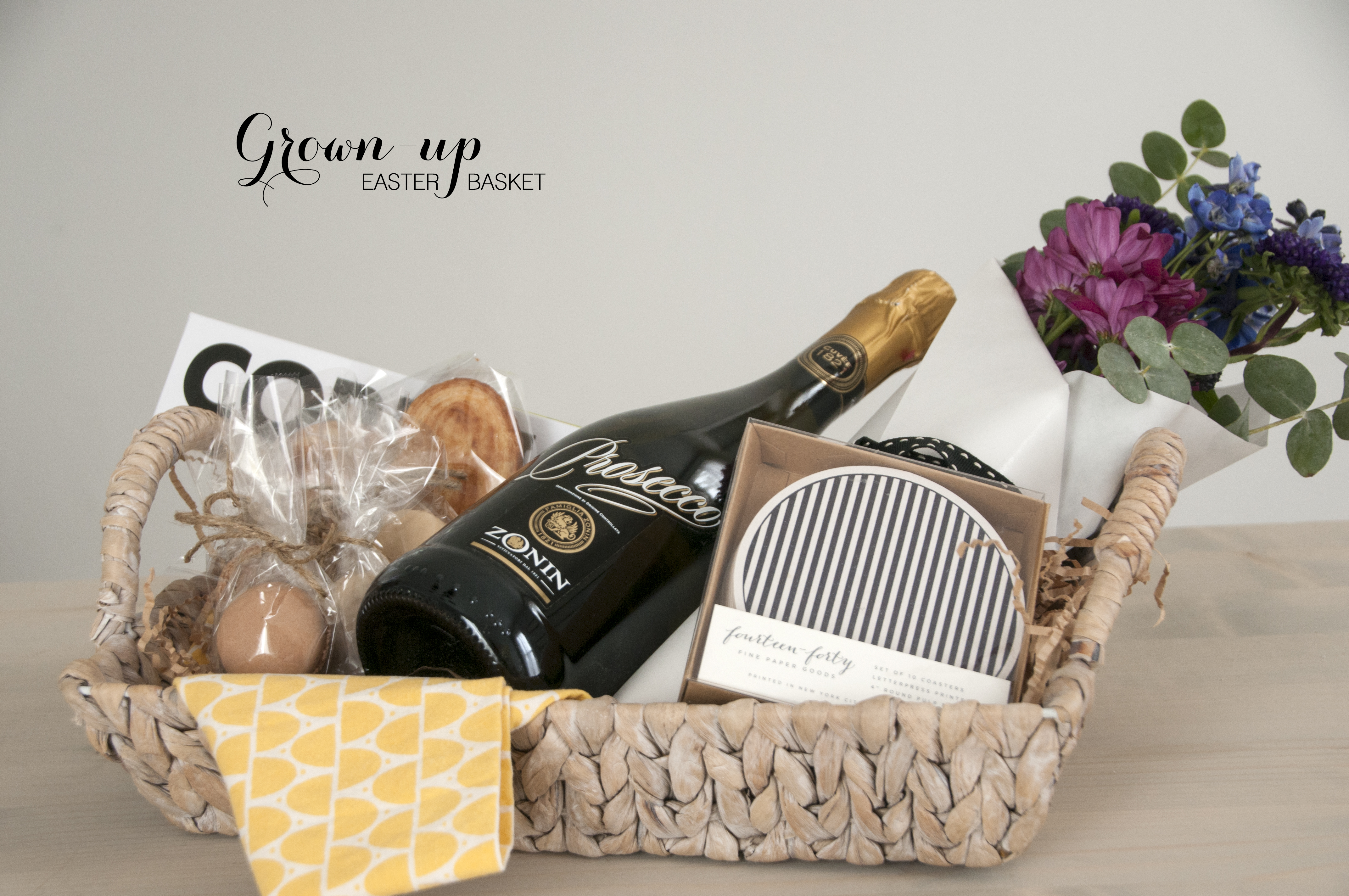 An easter basket for grown ups earnest home co grown up easter 1 negle Image collections