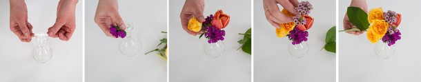 floral candlestick workflow
