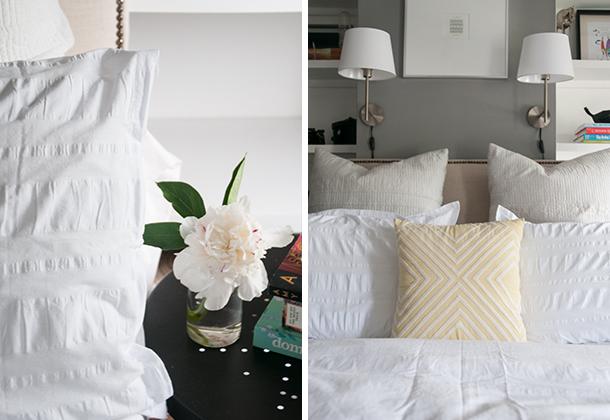 white duvet master bedroom