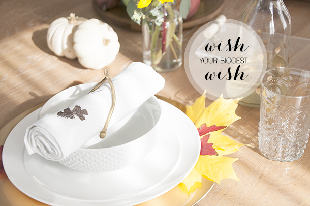 wishbone napkin holder thanksgiving