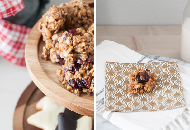 Granola no-bake cookies