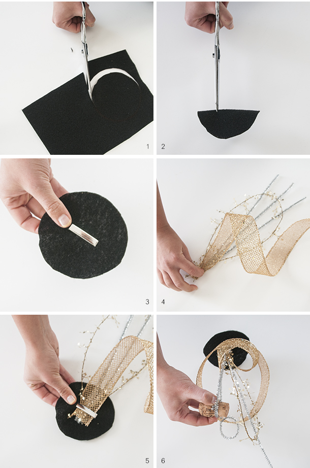 party hat tutorial - new years eve