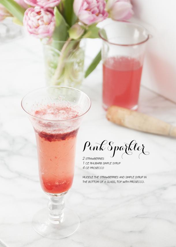 pink sparkler