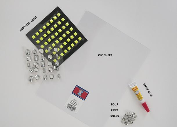 acrylic cuff bracelet materials