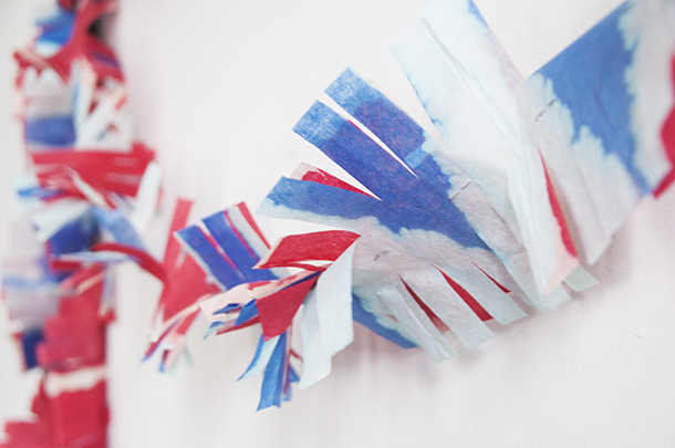 fringe party garland