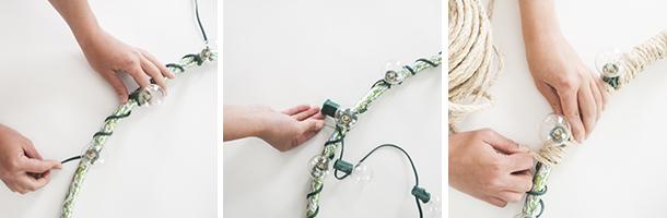 Diy Rope Chandelier Outdoor rope chandelier diy earnest home co outdoor rope chandelier diy workflow audiocablefo