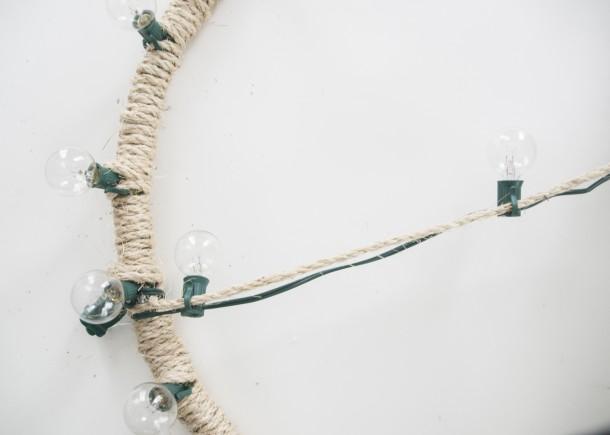 rope chandelier tutorial