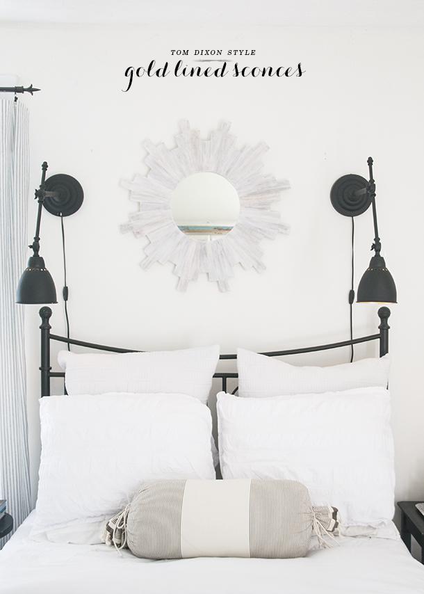 bedside table lighting DIY