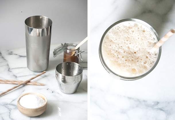 salty caramel iced coffee recipe