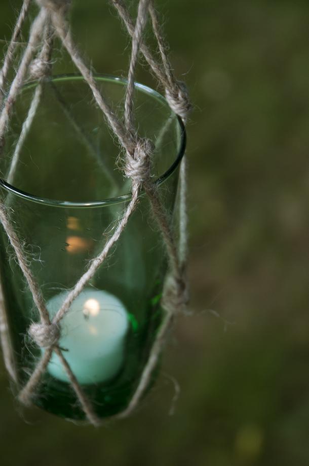 woven nautical lantern