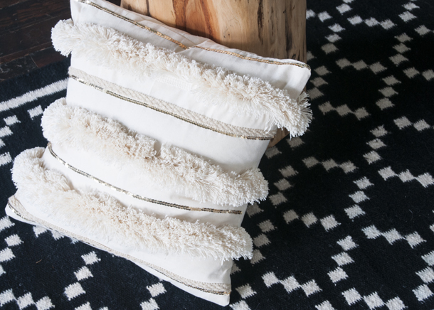 make your own moroccan wedding blanket