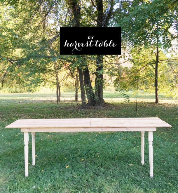 DIY 10 Foot Harvest Table For Under 80 Earnest Home Co