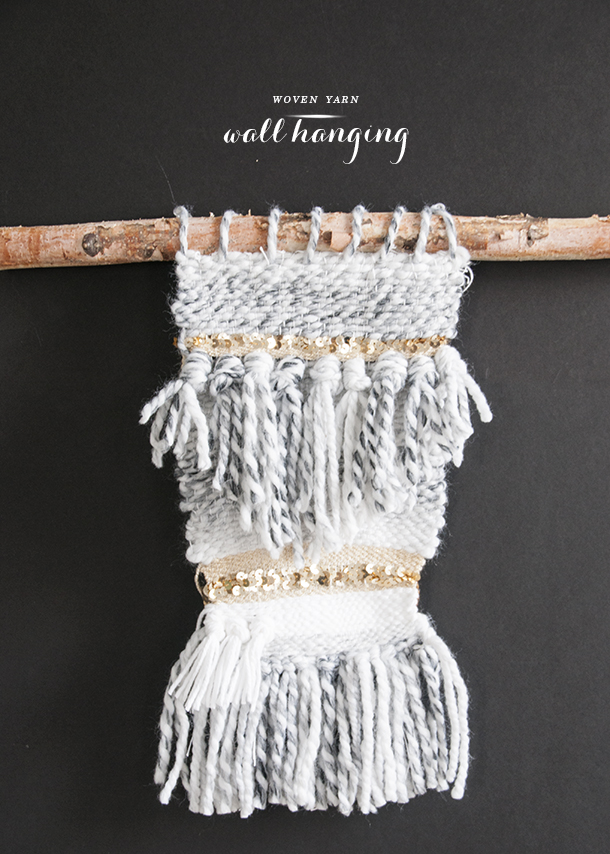 Woven Wall Hangings woven yarn wall hanging - earnest home co.