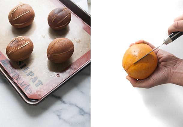 oranges séchés entiers