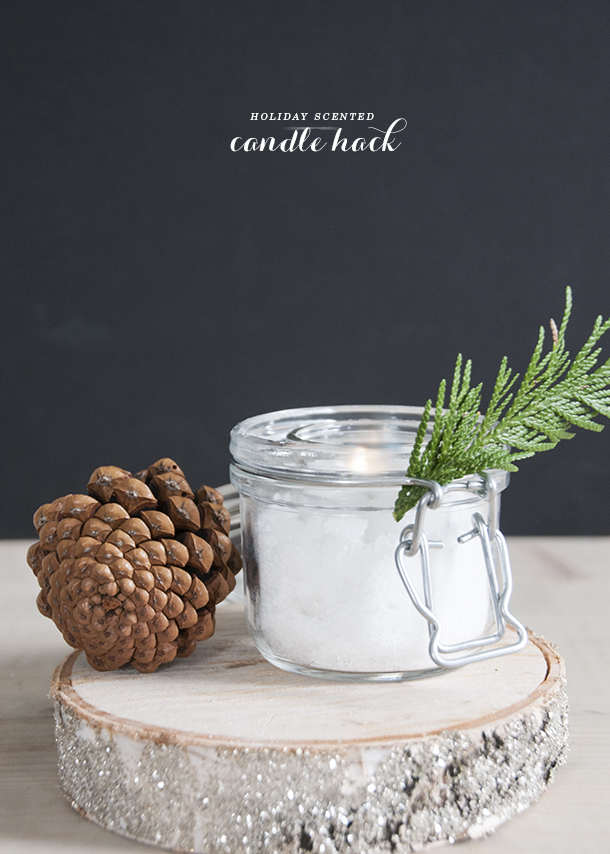 holiday candle hack