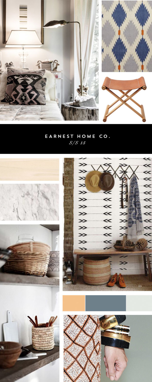 ss15 home decor inspiration board
