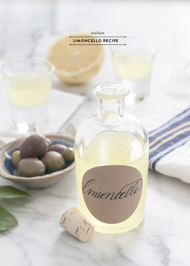 italiano limoncello recipe
