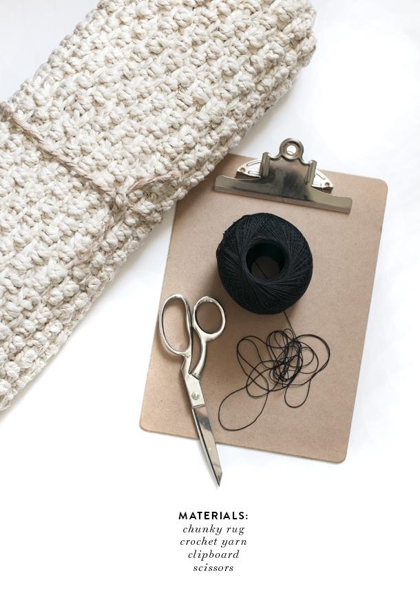tassel fringe rug tutorial 1