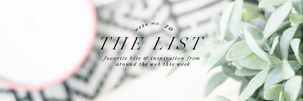 the list header wk20