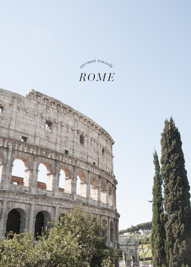earnest travels rome