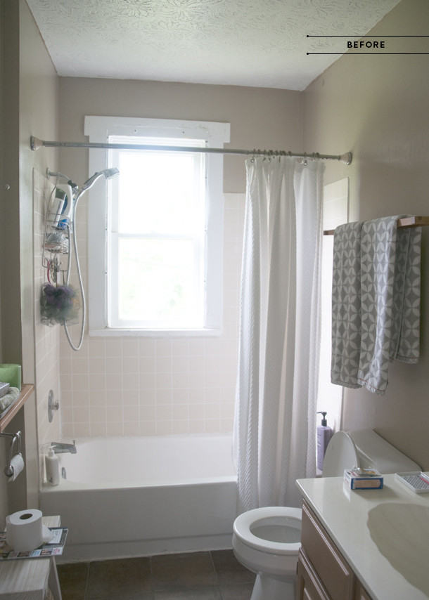 bathroom redesign before
