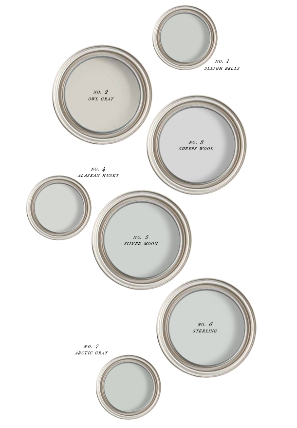 The Best Creamy Gray Paint Earnest Home Co - Best gray paint colors for kitchen
