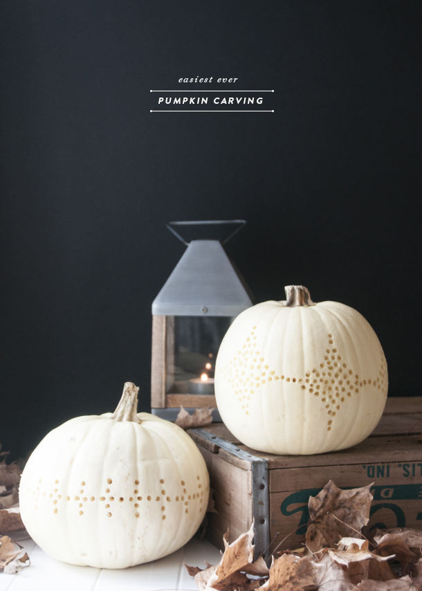 pinhole pumpkin carving