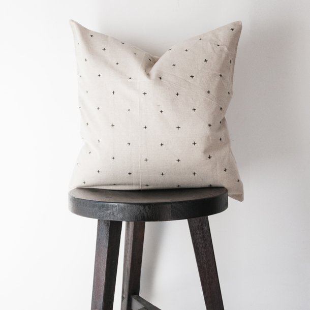 modern cross stitch pillow sq
