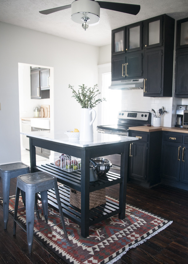 Kitchen Redesign farmhouse kitchen redesign - earnest home co