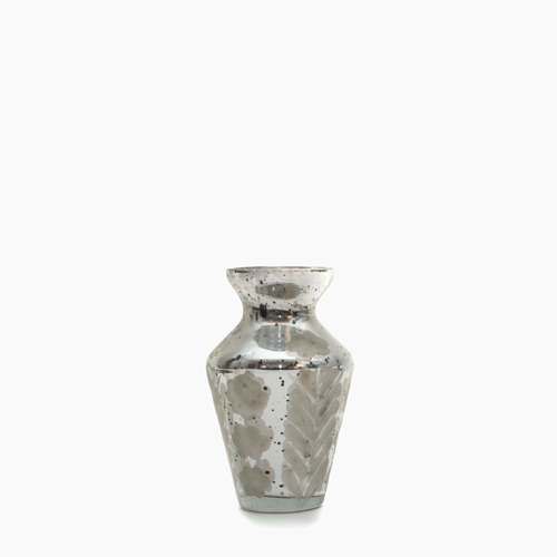 Bauble Mercury Glass Bud Vases Earnest Home Co