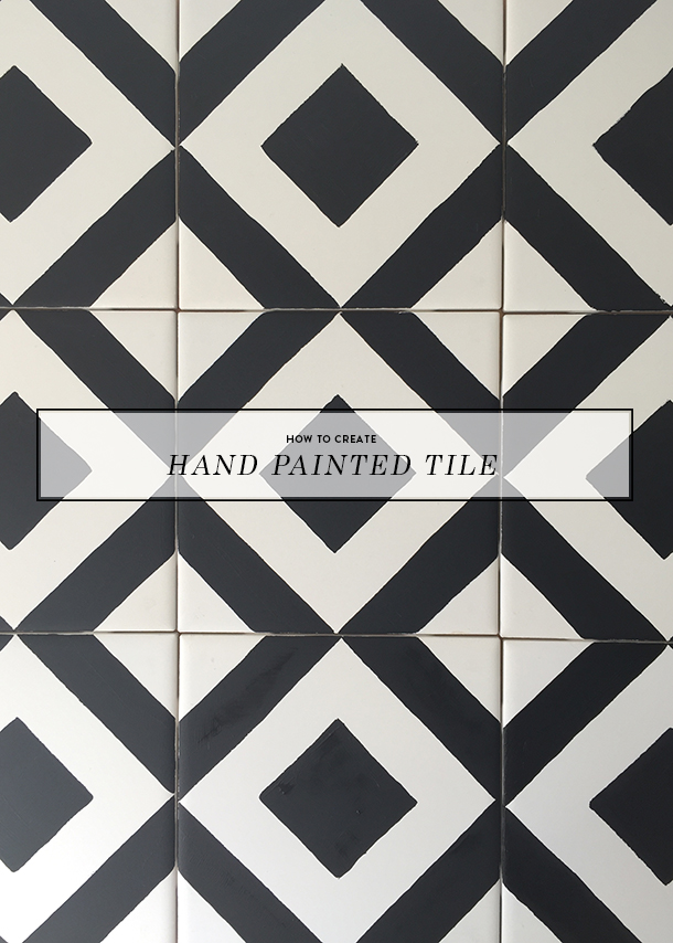 Handpainted Tile Tutorial