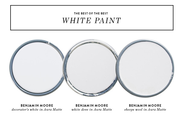 the best white paint - earnest home co.