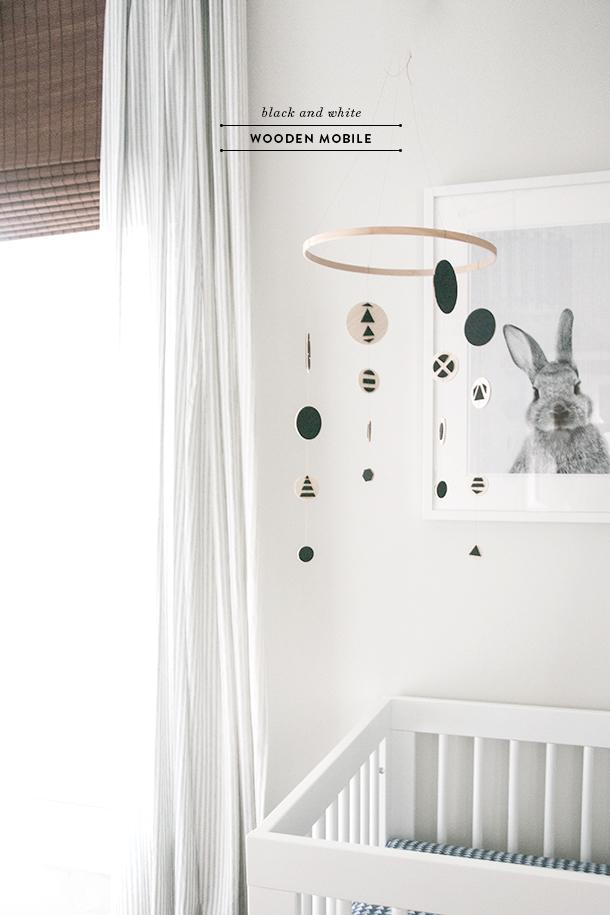 Modern DIY Baby Mobile - Earnest Home co.