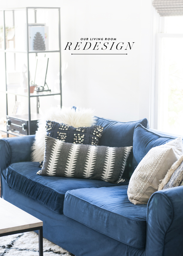 Before & After: Farmhouse Living Room Redesign - Earnest Home co.