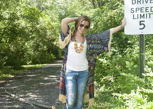 diy kimono from a scarf3